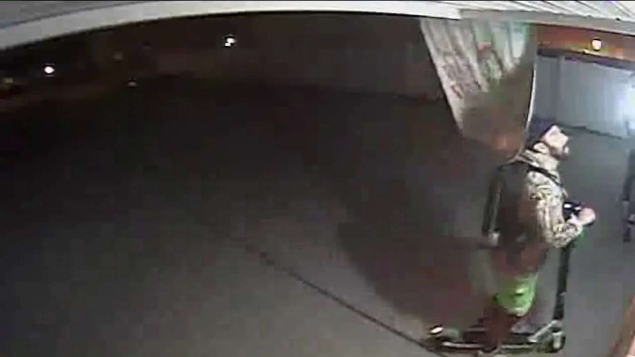 Thieves caught on security camera stealing American flag from Norfolkhome