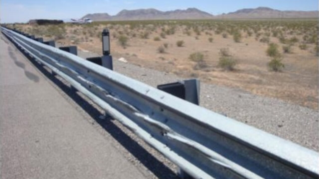 Truck hauling $800,000 in dimes crashes on I-15