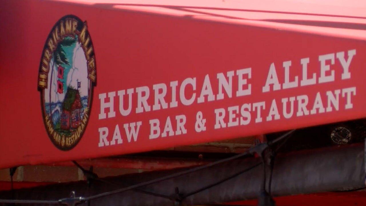 Hurricane Alley restaurant in Boynton Beach