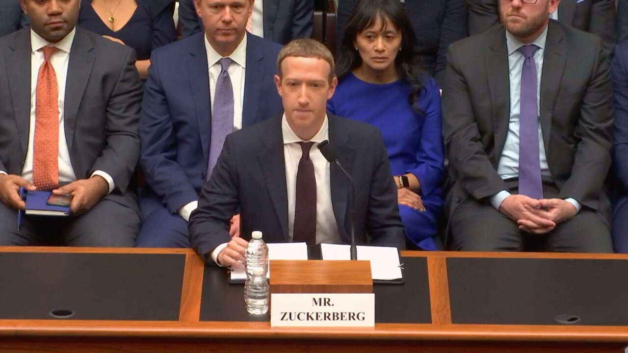 Mark Zuckerberg grilled by Congress over Libra and political ads policy