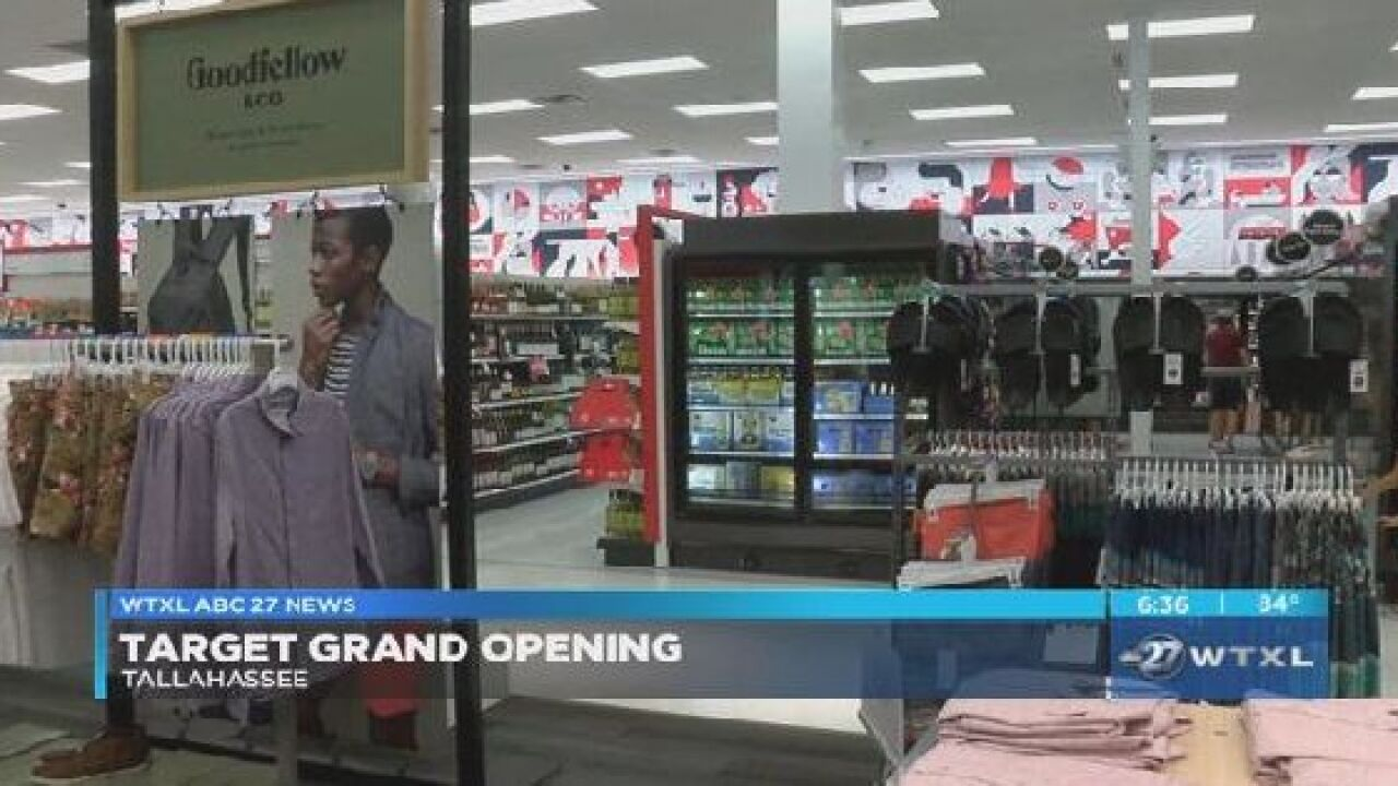 Target holds grand opening in Tallahassee