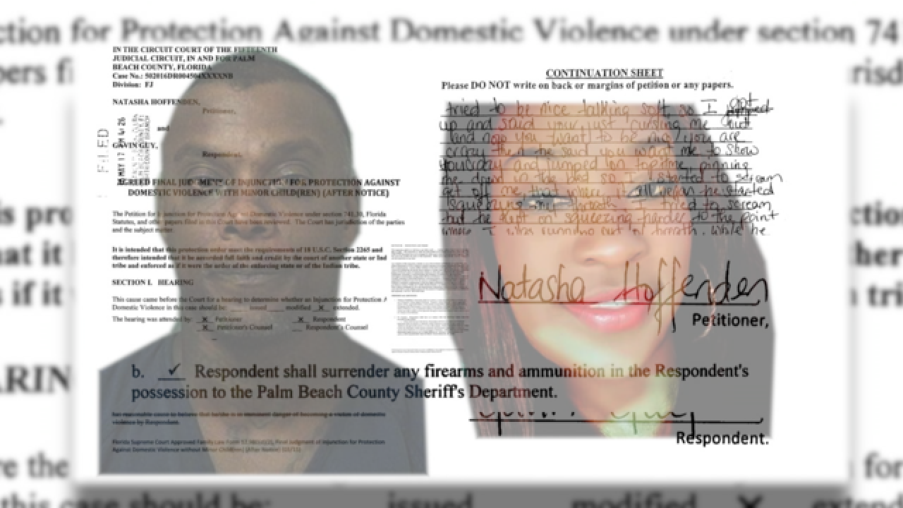 Domestic violence and gun laws in Florida