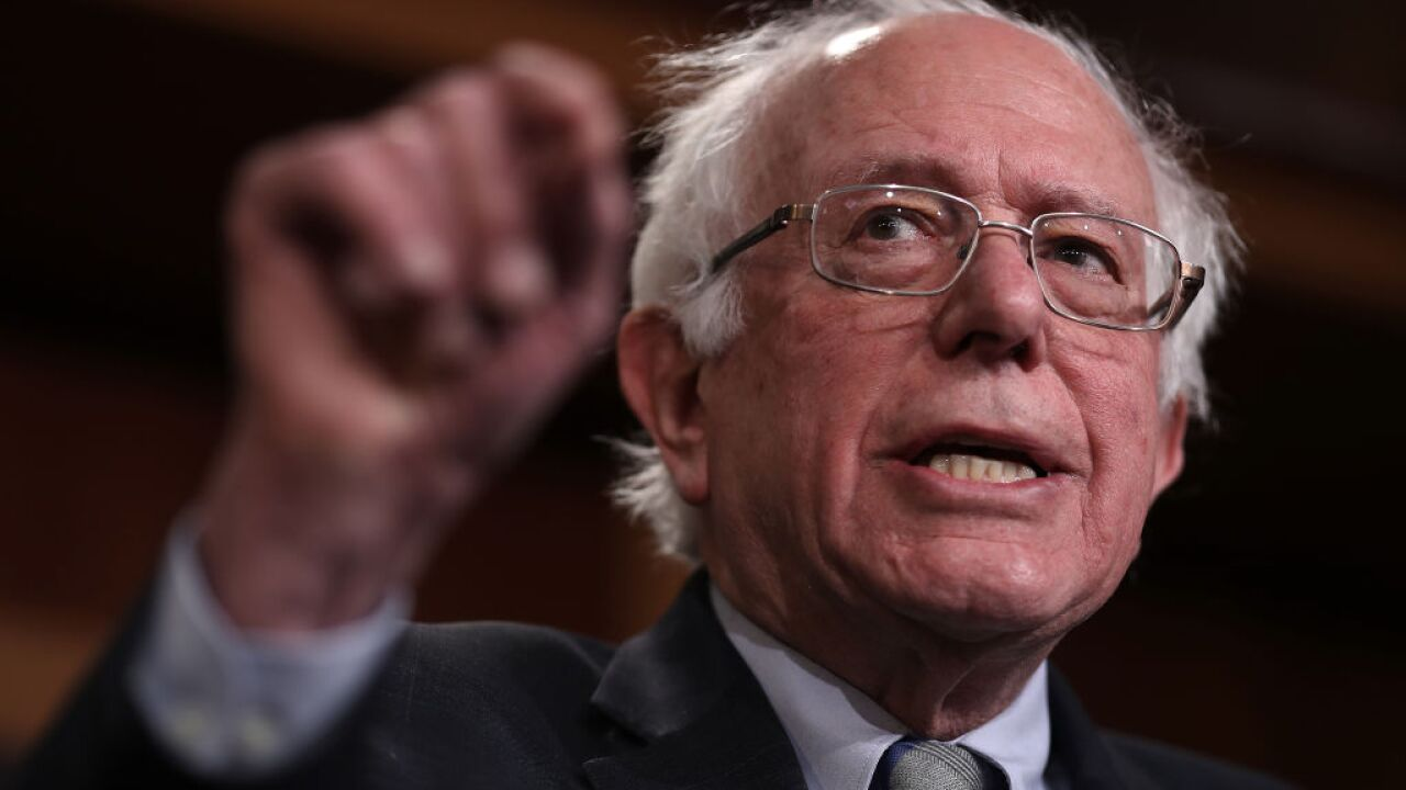 Bernie Sanders says that if he's elected, he'll reveal whether aliens are real