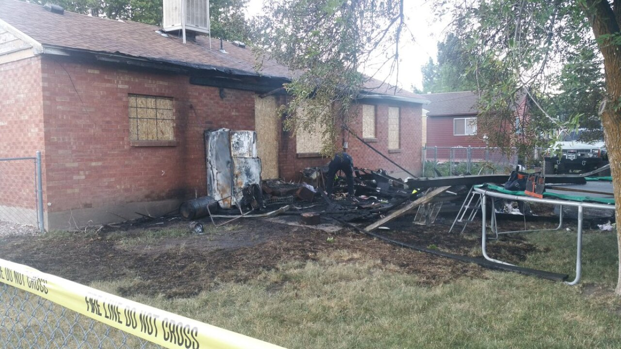 Fire damages Layton home, three displaced