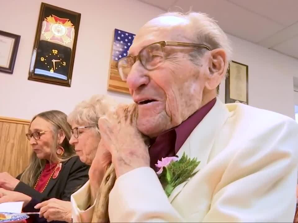 Billings World War II vet celebrates 98th birthday