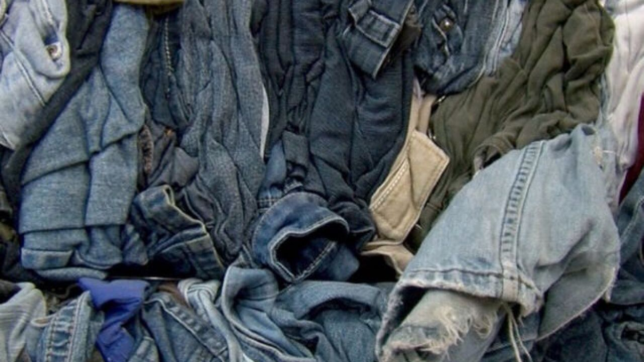 Valley company recycles around 700,000 pairs of jeans a month