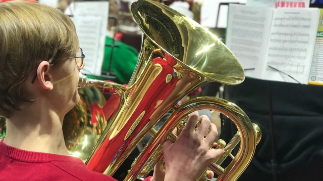 Watch: Tuba players break Guinness World Record