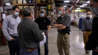Manhattan companies work together to invent, produce PPE for Montana first responders