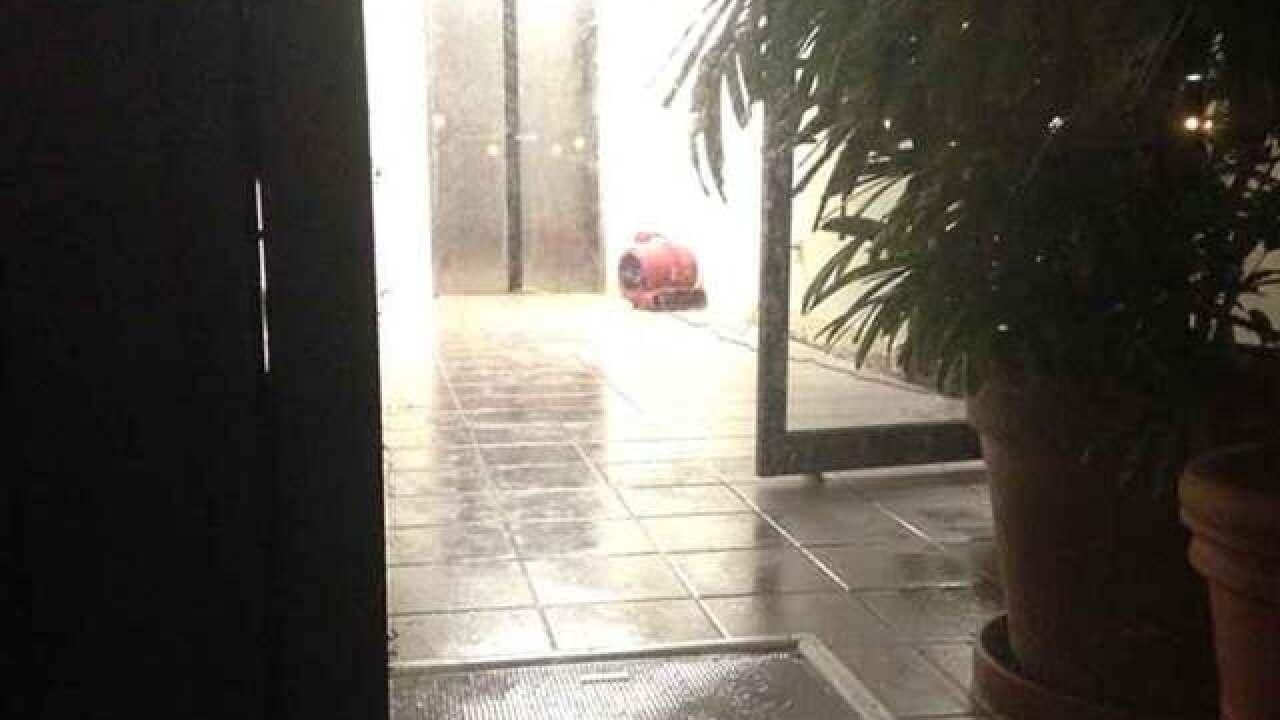 Boca Raton City Hall floods after heavy rainfall