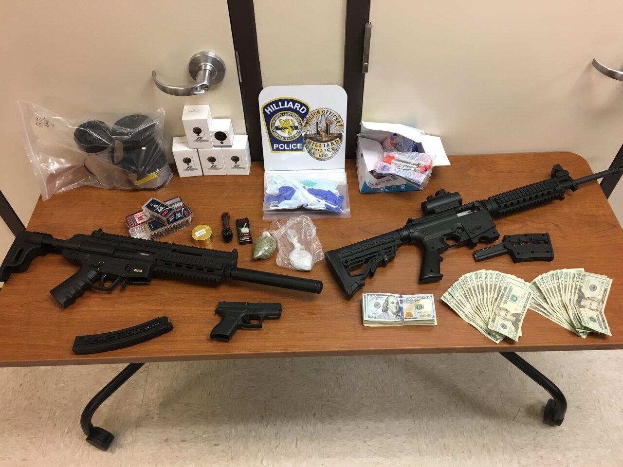 Hilliard Division of Police Columbus drug raid.jpg