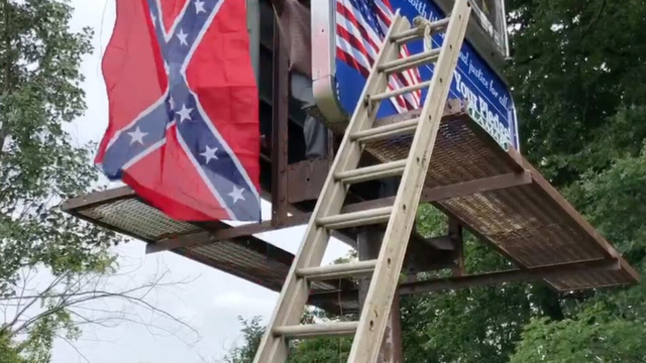 Protesters call for ban of sale of Confed. flag