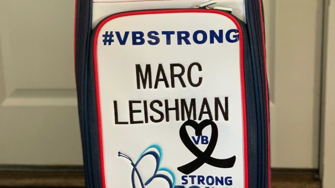 Virginia Beach golfer Marc Leishman reps #VBStrong for upcoming U.S. Open