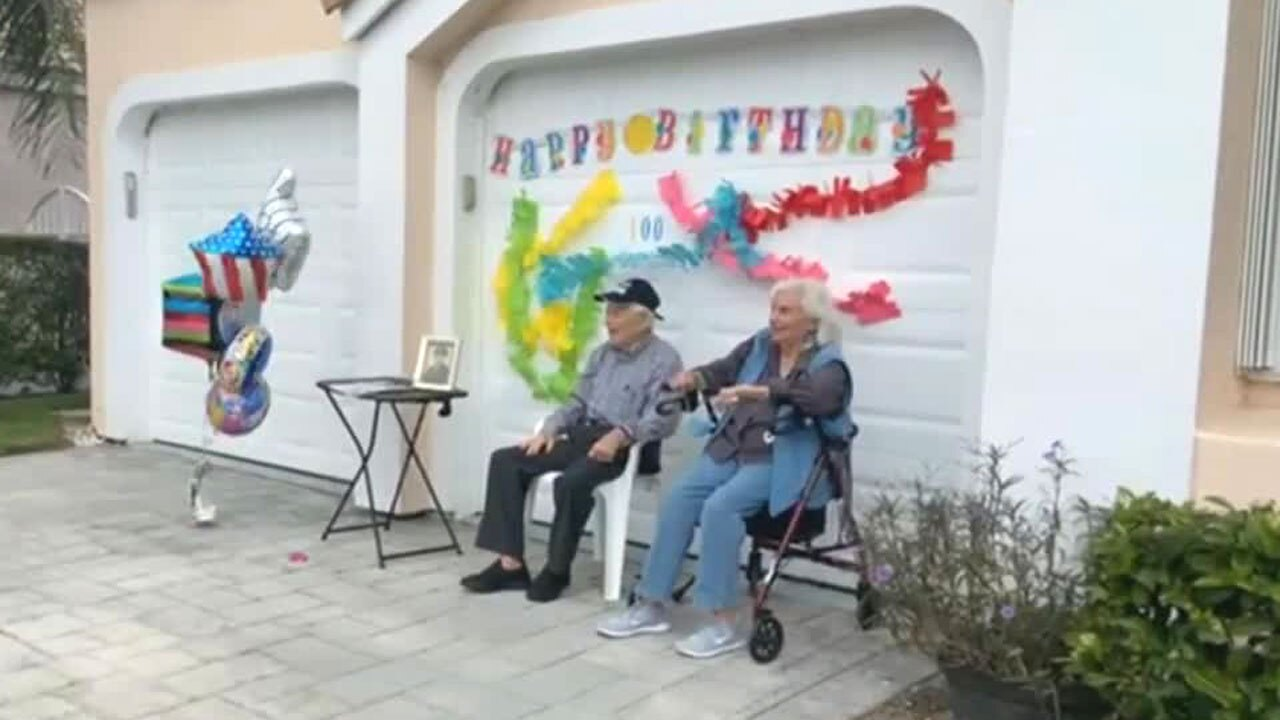 Al Kaiserman, parade held for World War II veteran in Palm Beach Gardens