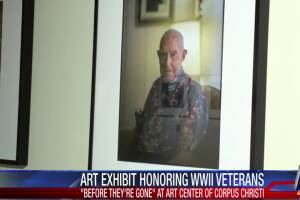 Art exhibit honors World War 2 veterans