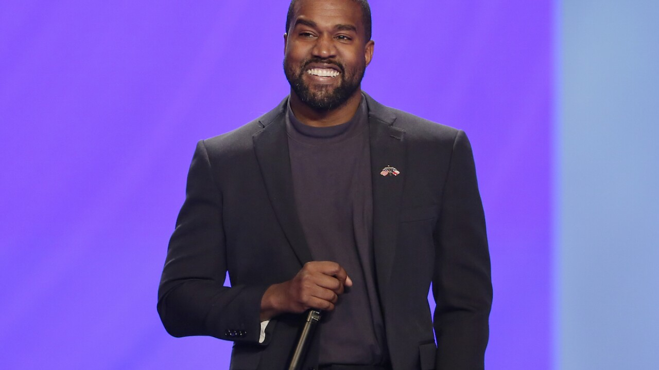 Where Kanye West will appear on the ballot