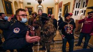 U.S. Capitol Protests, Jan. 6, 2021