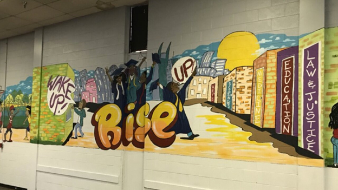 New Mural Unveiled at Youth Encouragement Services
