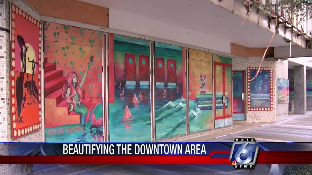 Spruced-up downtown windows