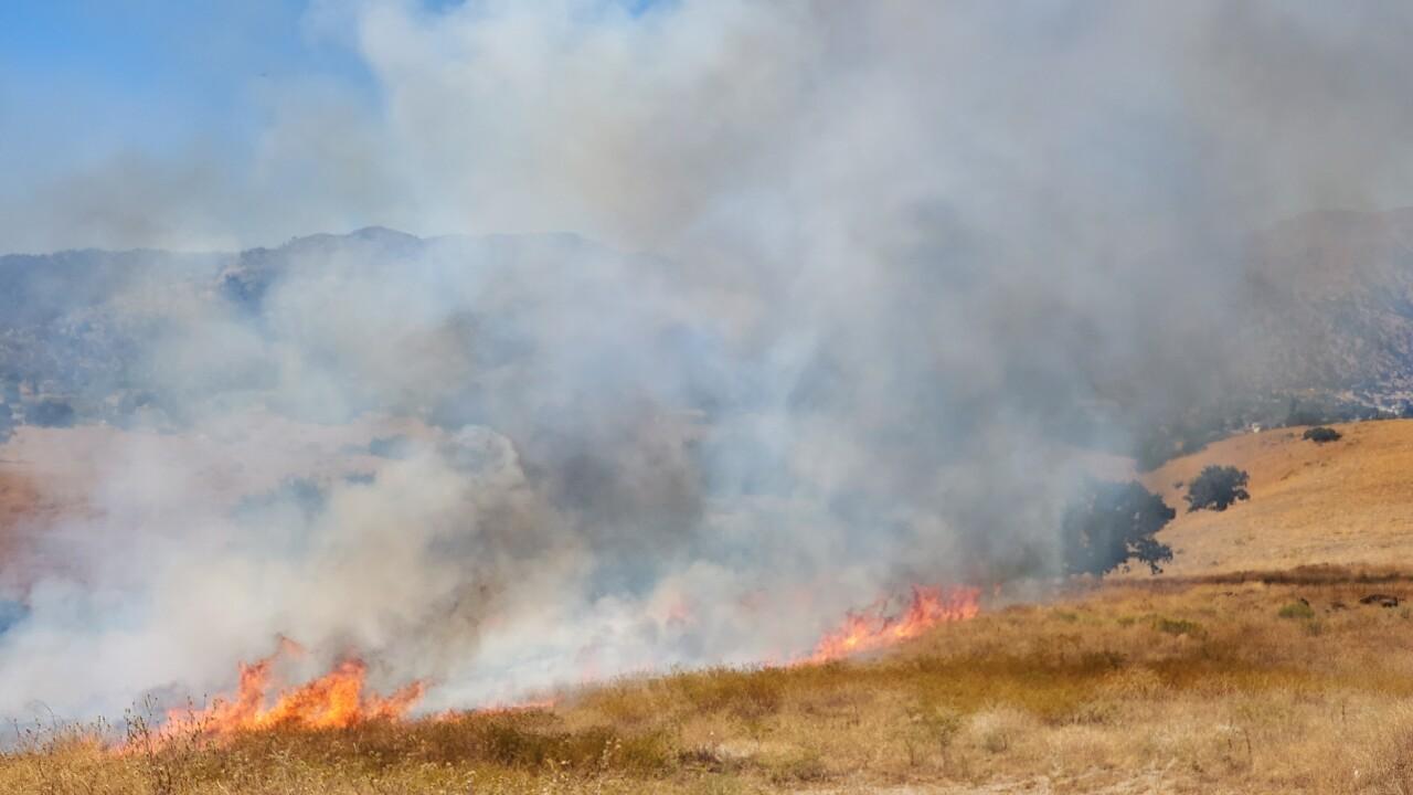 Tehachapi Grass Fire