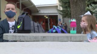 A first day like no other in Centerville and Cascade Public Schools