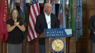 Gianforte calls on Montanans to get vaccinated, won't mandate shot or masking