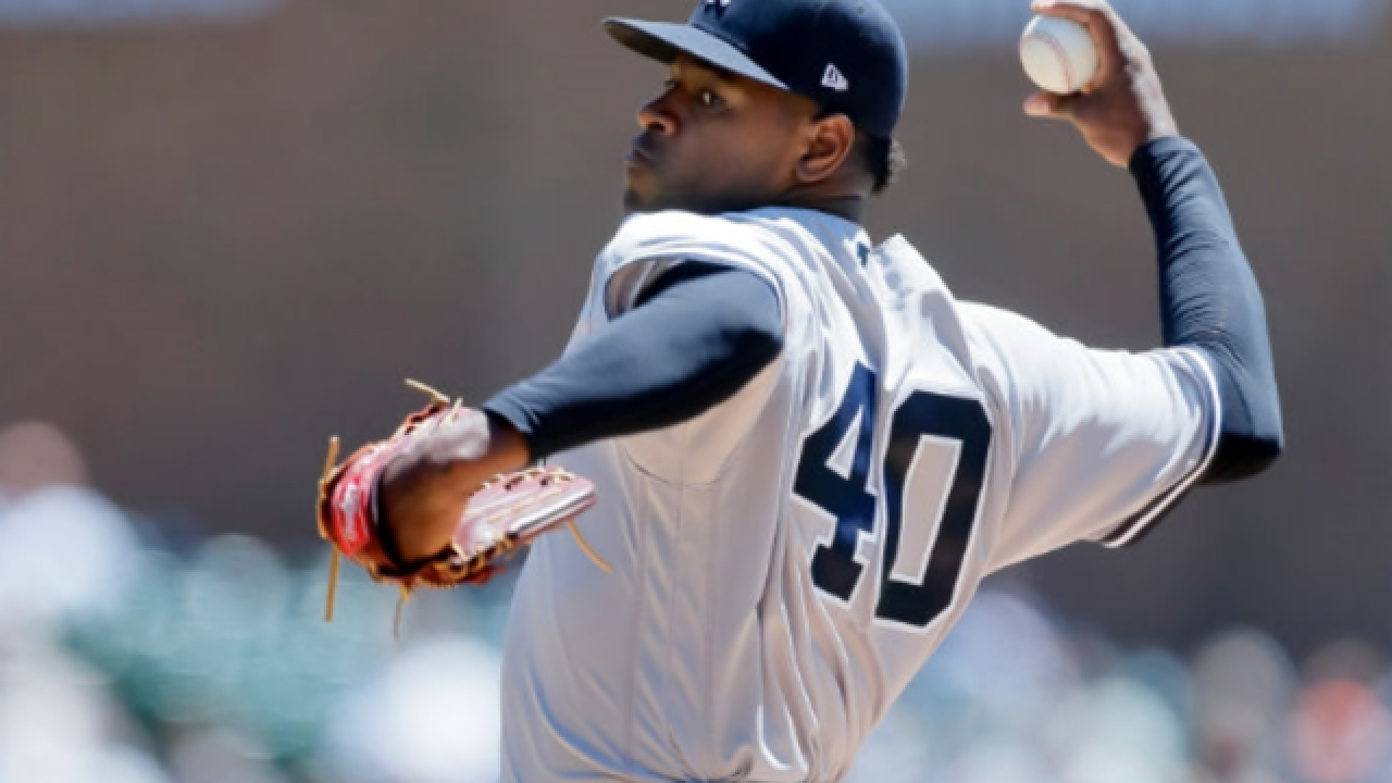 Luis Severino wins 7th straight as Yankees top Tigers in opener