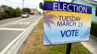 Lake Worth Beach runoff election March, 23, 2021