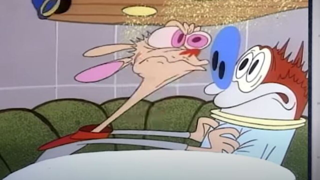 "The documentary ""Happy Happy Joy Joy: The Ren & Stimpy Story"" explores the show's strange history."
