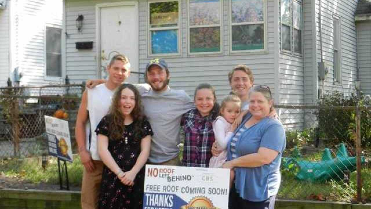 Lansing woman wins No Roof Left Behind