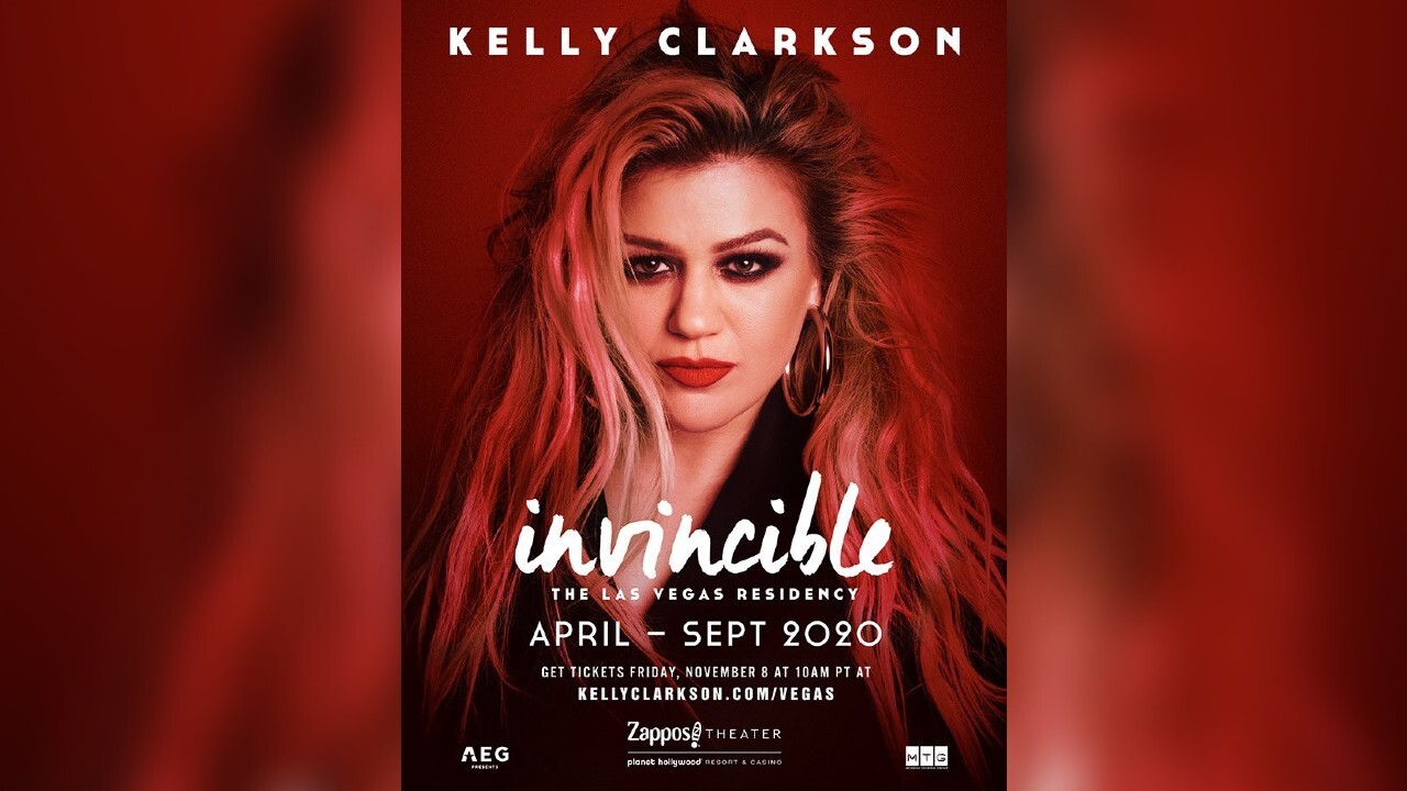 Kelly Clarkson getting her own Las Vegas residency