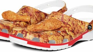 You Can Soon Buy A Pair Of KFC Crocs, Complete With Chicken-scented Drumsticks On Top