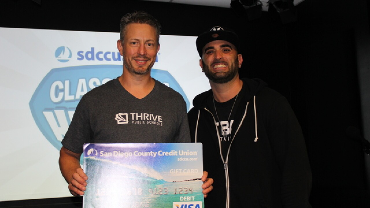 SDCCU Classroom Heroes: Glenn Jacobson at Thrive Public Schools
