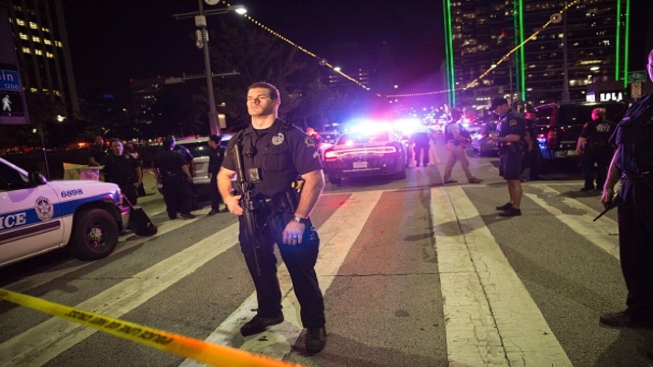 Shots fired at Black Lives Matter protest in Tx.