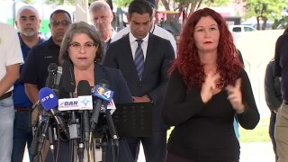 Miami-Dade County Mayor Daniella Levine Cava speaks at a news conference on July 2, 2021.jpg