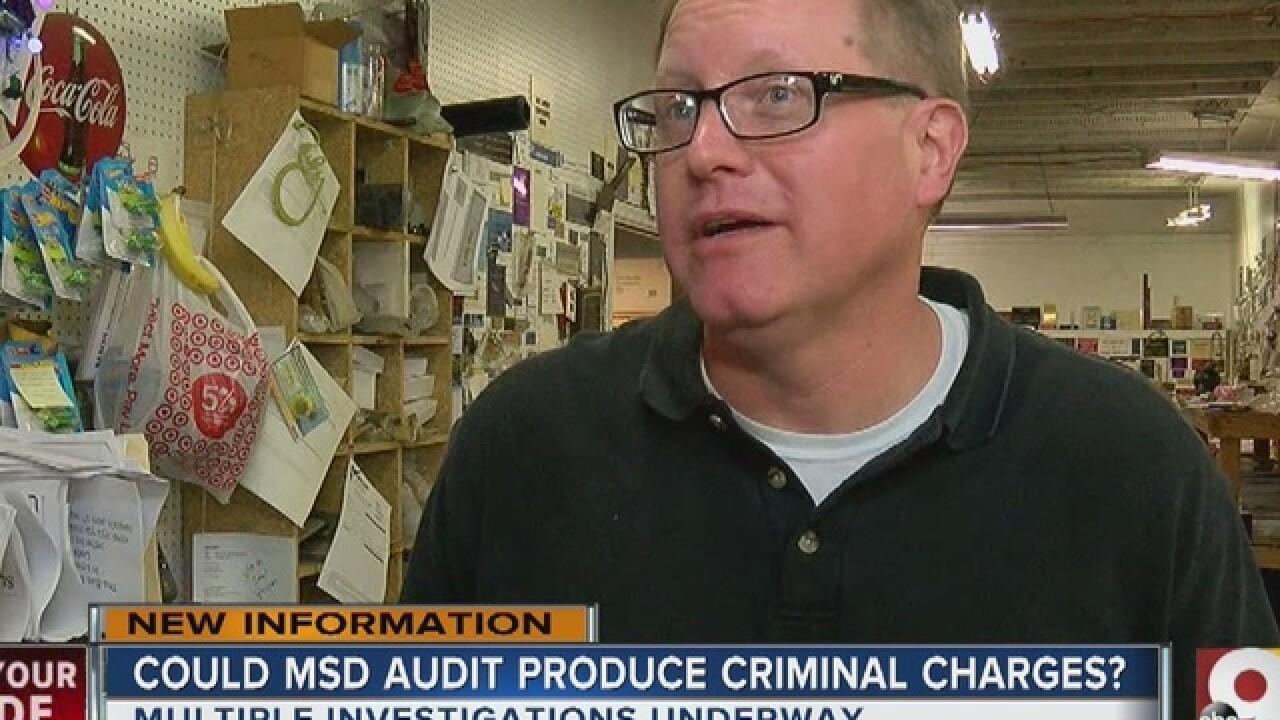 Investigations follow critical MSD audit