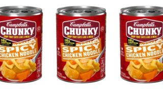Campbell's Launched A New Spicy Chicken Noodle Soup Flavor
