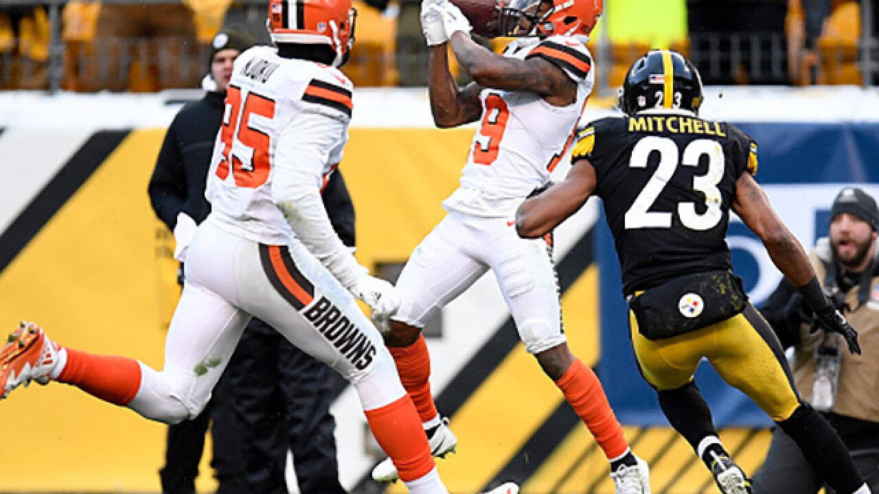 Browns' season perfectly captured in one failed catch