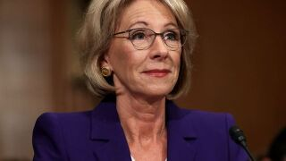 US Marshals providing rare security for Education Secretary Betsy DeVos