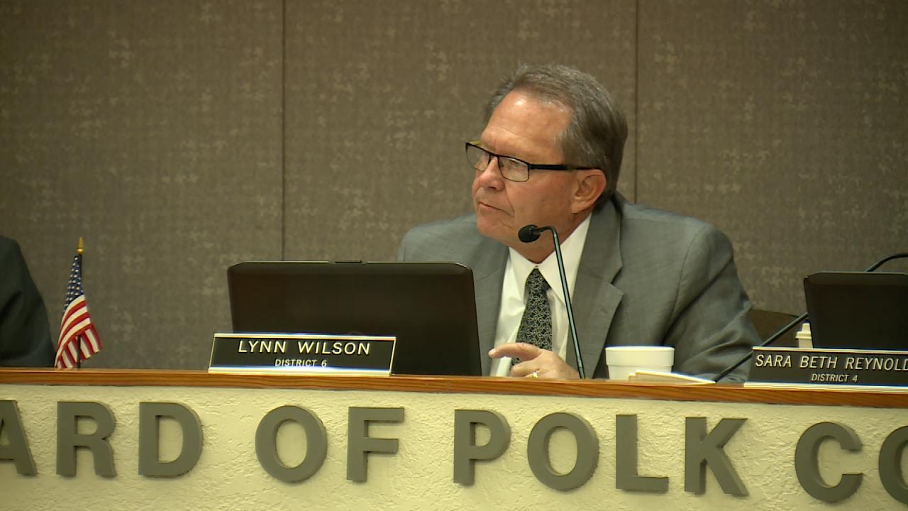 Lynn Wilson, District 1 of the Polk County School Board
