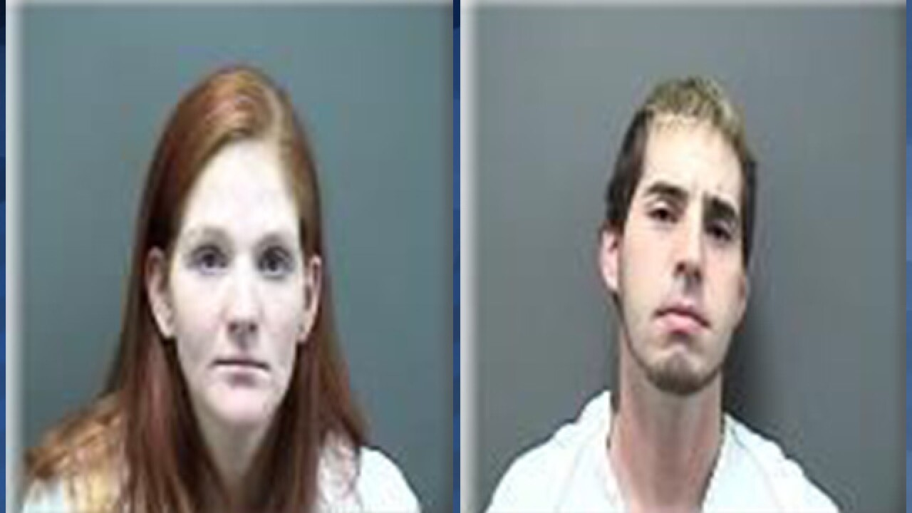 Pregnant woman, man allegedly caught doing heroin in Piggly Wiggly