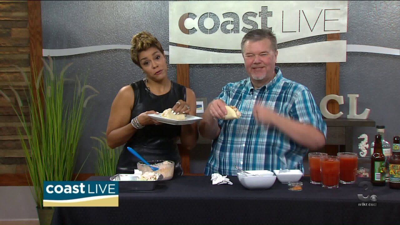Chef Patrick with spooky peppers, fishy tacos and more on CoastLive