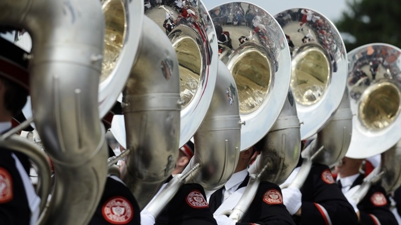 Ohio State University marching band will perform in the Macy's Thanksgiving Day Parade