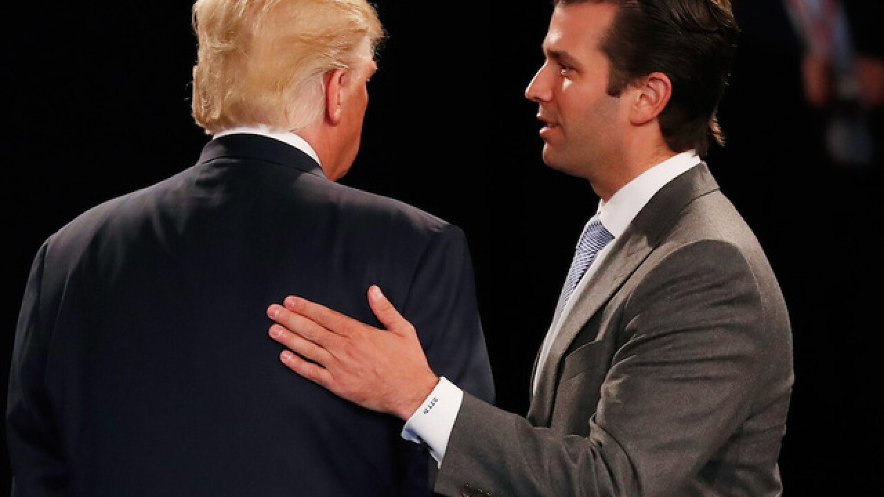 Report: Trump Jr. met with Russian lawyer for info on Clinton's 'fitness'