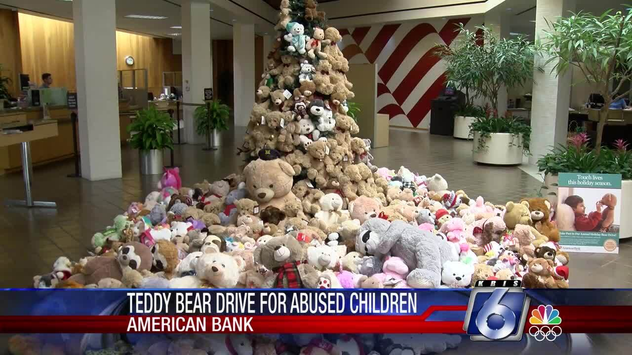 American Bank's teddy bear drive