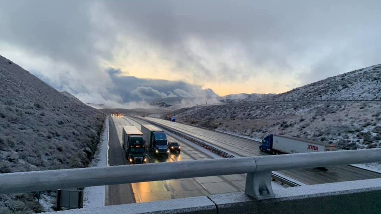 Grapevine open Friday morning, CHP pacing traffic