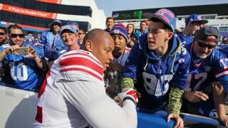 New York Giants defensive end Kerry Wynn