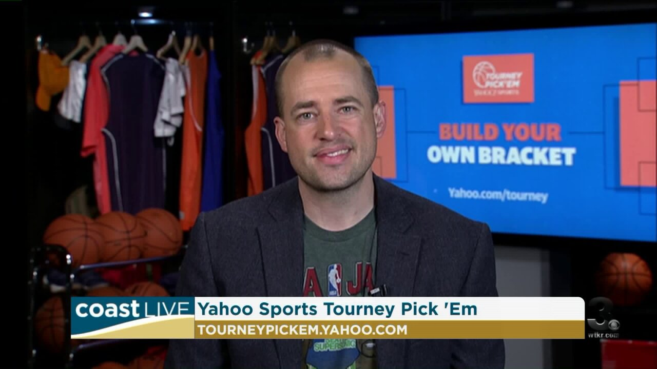 March is getting mad so we talk with Bracket Brad about Yahoo's tournament challenge on Coast Live