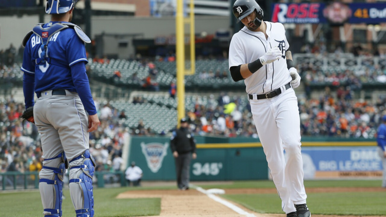 Tigers blast Royals 12-4 in Detroit