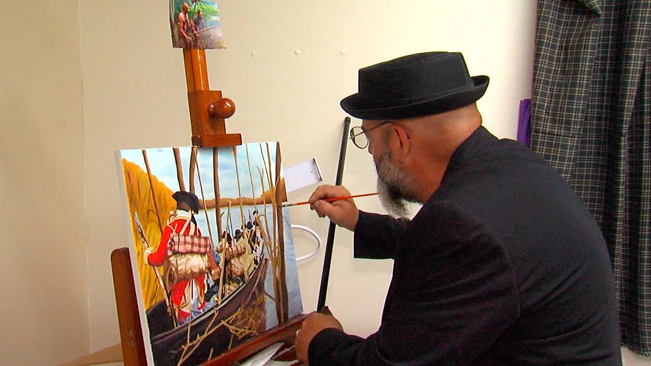 David McGee veteran and artist