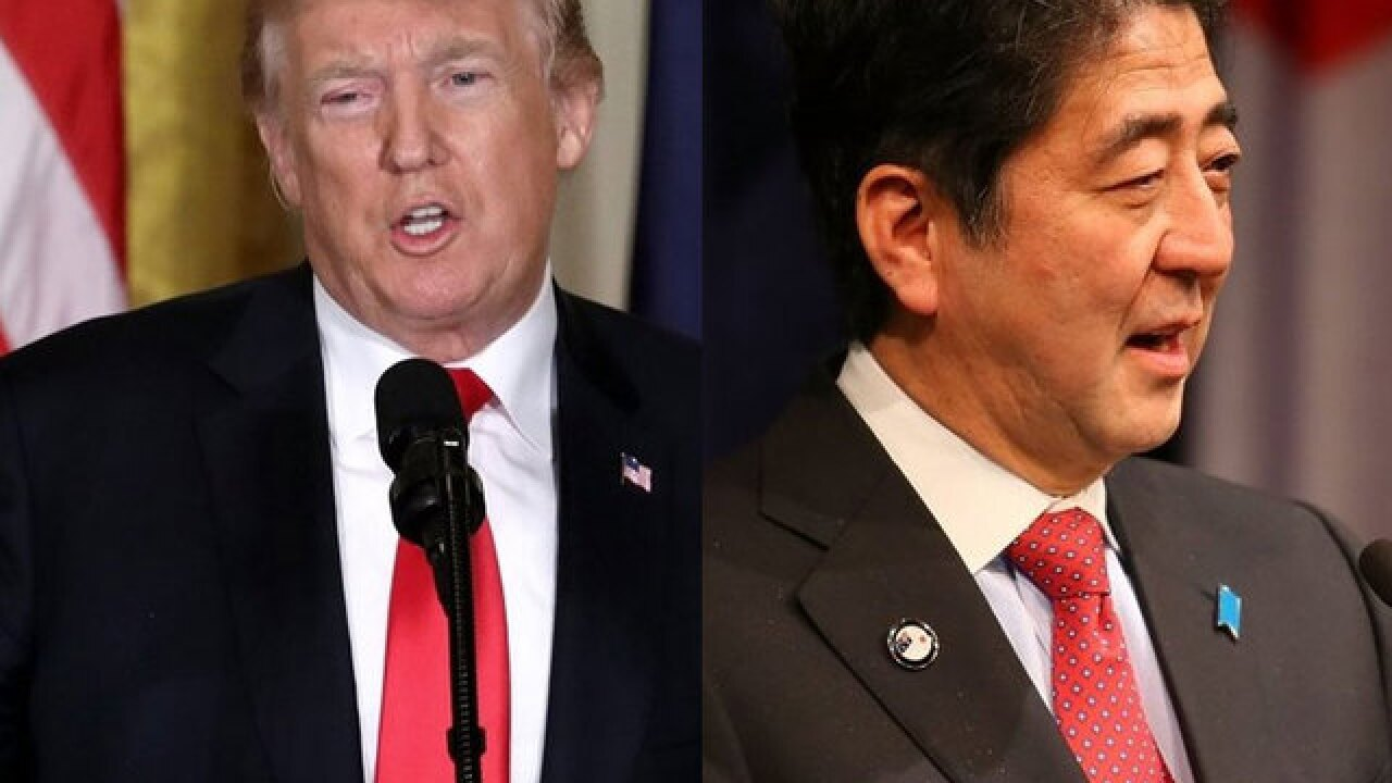 Trump-Abe to meet in Palm Beach over North Korea